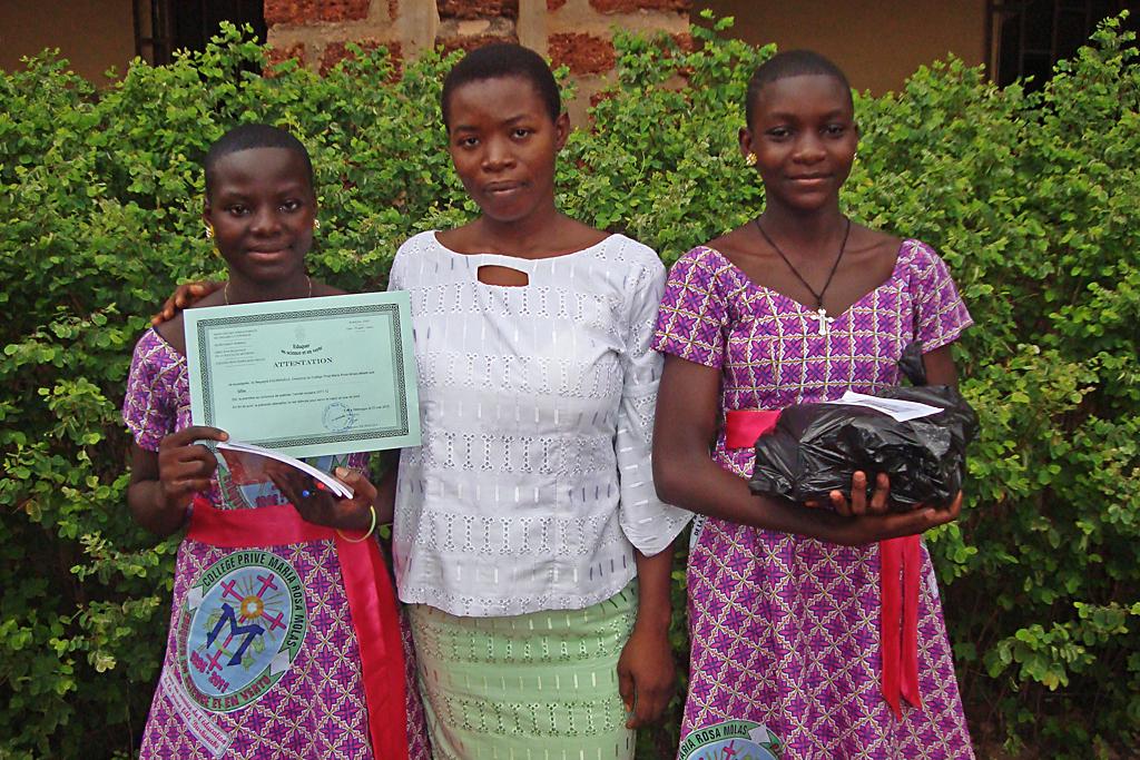 Dedougou (diplomas fin de curso)
