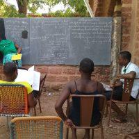 Formación femenina en Dedougou