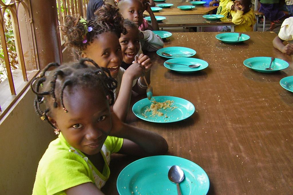 Ouagadougou (comiendo 1)