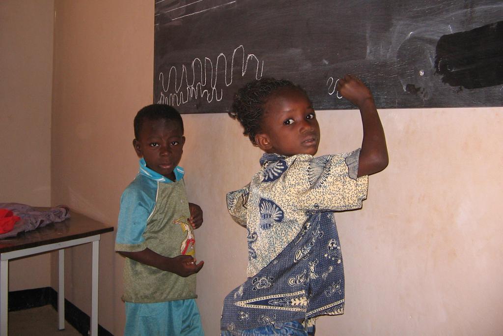 Ouagadougou (en pizarra grande)